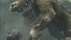 In Shadow of the Colossus you must overcome sixteen giant beasts.