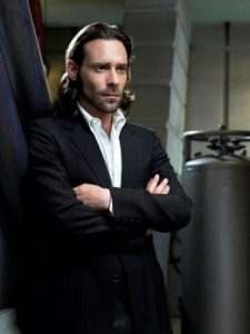 Gaius Baltar, the scientist turned political opponent in Battlestar Galactica.