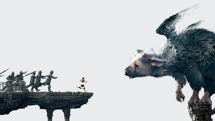 Trico and the boy feel a thematic consistency in The Last Guardian.
