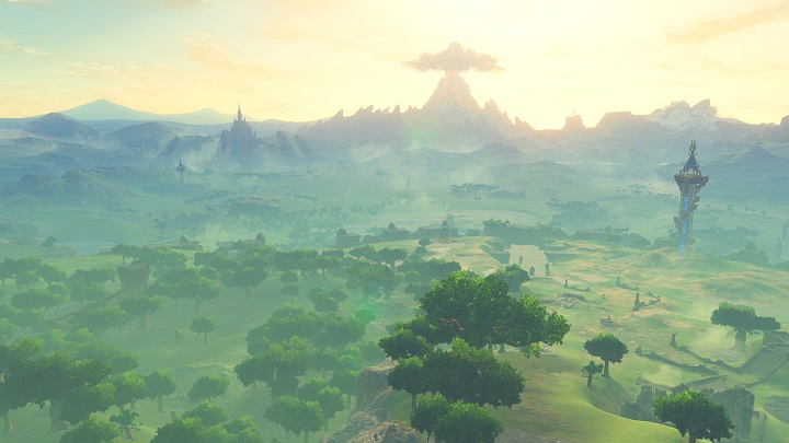 The world of Hyrule is gloriously open for exploration in Zelda: Breath of the Wild.